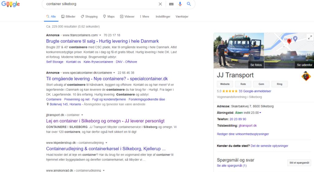 JJ Google My Business