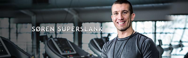 Søren Superslank banner