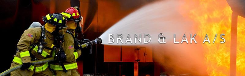 Brand & Lak A/S banner